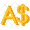 Australian Dollar Sign Icon