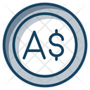 Australian Coin Currency Coin Icon