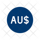 Australian Dollars Investment Payment Icon