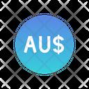 Australian Dollars Icon
