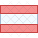 Austria Flag Country Icon