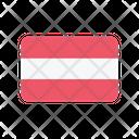 Austria At Flag Country Icon