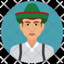 Austria Man Icon