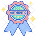 Authentic Full Authentic Original Product Icon