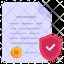 Authentic Document Icon
