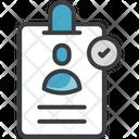 Authentication Recognition Verification Icon