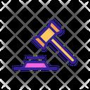 Judgement Authority Court Icon