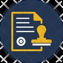 Authorized Commitment Dedication Icon