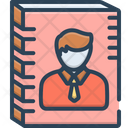 Authorship Blogging Binder Icon