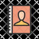 Authorship Book Contact Icon