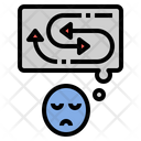 Autism Confusion Stress Icon