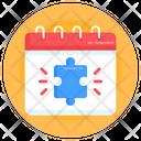 Autism Agenda Autism Calendar Almanac Icon