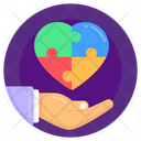 Autism Protection Autism Care Autism Heart Icon