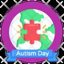 World Autism Day Autism Day Autism Day Celebration Icon