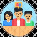Autism Chat Autism Meeting Autism Discussion Icon