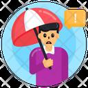 Rain Protection Autism Rain Protection Autism Umbrella Icon