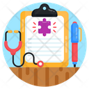 Medical Report Prescription Autism Report Icon