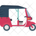 Auto Rickshaw Transport Icon