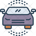 Auto Passenger Car Icon