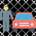 Auto Car Driver Icon