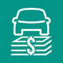 Auto Financing Bank Icon