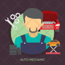 Auto Mechanic Car Icon