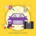 Auto Service Center Icon