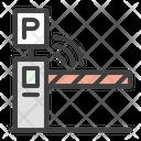 Auto Barrier Gate Icon