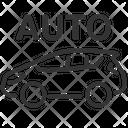 Auto Car Auto Autopilot Icon