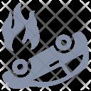 Auto Crash Accident Icon