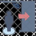 Autodoor Door Sensor Icon