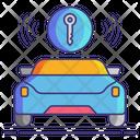 Auto Door Lock Icon