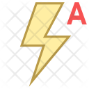 Auto Flash Icon