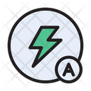 Flash Auto Camera Icon
