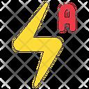 Photograph Flash Auto Icon