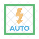 Auto Flash Auto Flash Icon