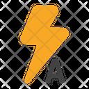 Auto Flash Icon