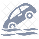 Auto flood insurance Icon