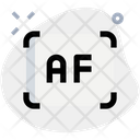 Auto Focus Focus Camera Icon