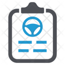 Rent Contract Policy Icon