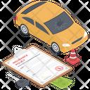 Auto Insurance Policy Icon