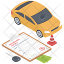 Auto Insurance Policy Auto Insurance Car Protection Icon