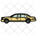 Auto Limousine Car Icon