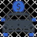 Auto Loan Car Price Icon