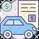 Auto Loan Car Loan Motor Loan Icon