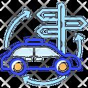 Auto Navigation Icon