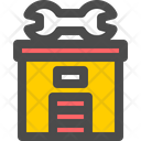 Auto Repair Shop Icon