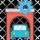 Auto Shop Car Garage Icon
