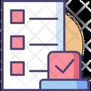 Auto Task Task List Checklist Icon
