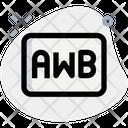 Auto White Balance Awb Focus Focus Capture Icon
